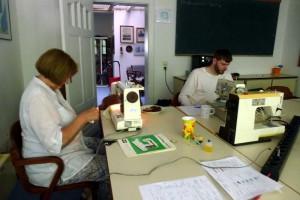 Nähmaschinen für Flüchtlingsprojekt