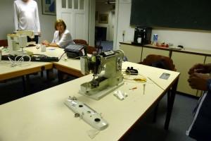Nähmaschinen für Flüchtlingsprojekt2