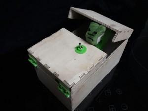 Die fertige Box