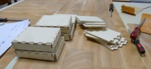 Boxen zusammen bauen 1